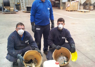 Plan de autocontrol, limpieza de tuberías de agua caliente